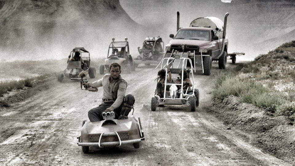Mad Max Style GoKart Paintball Experience