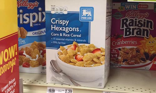 Off-Brand Food Items
