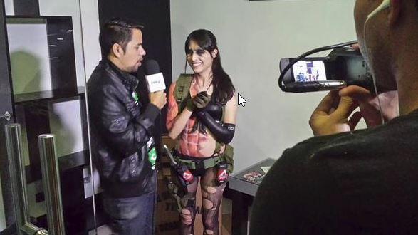 Metal Gear Solid V Quiet Cosplay