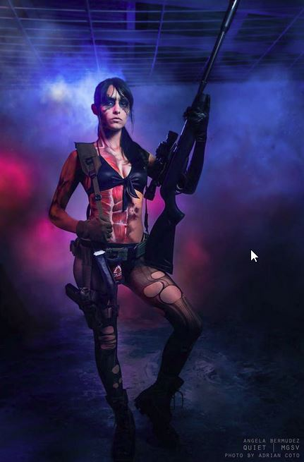 Metal Gear Solid V Quiet Cosplay Is Brilliant