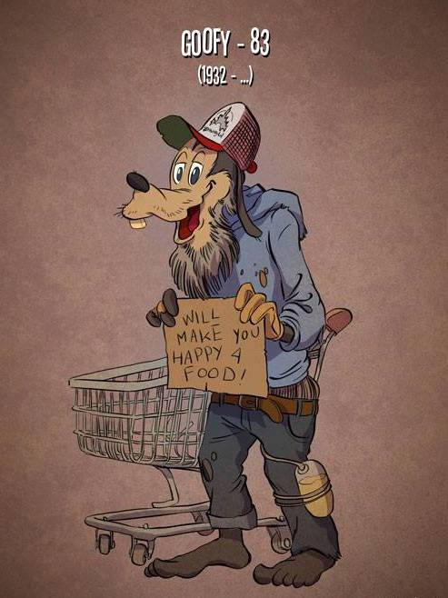 If Cartoon Characters Aged