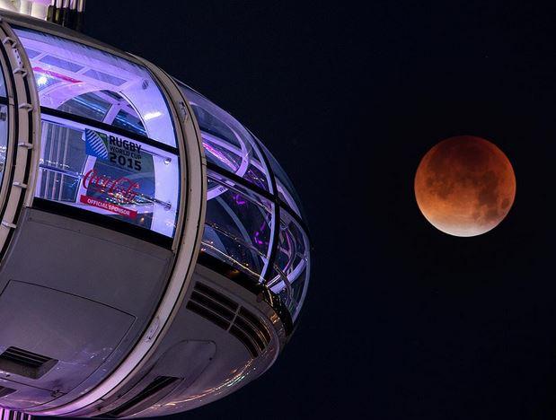 Super Mega Ultra Blood Moon Eclipse
