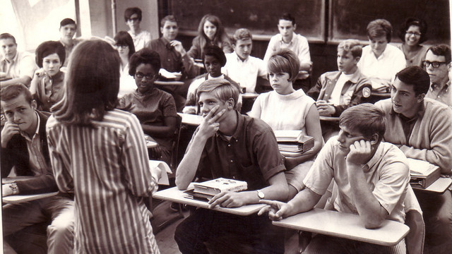 High School 1970 vs. 2015