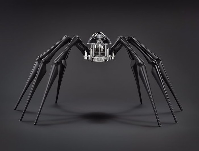 Arachnophobia Spider Clock Unveiled