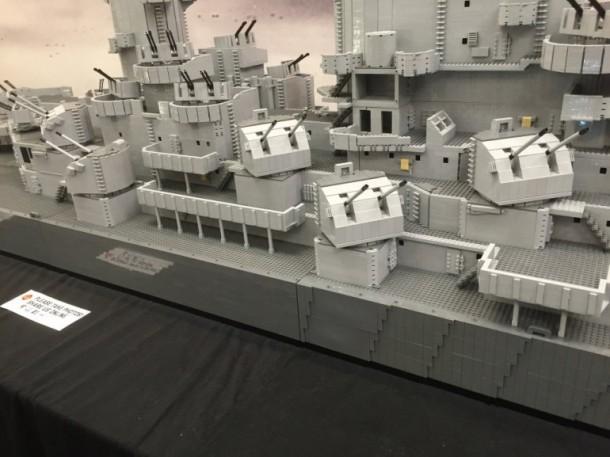 The World's Largest Lego Warship With 1 Million Lego Blocks
