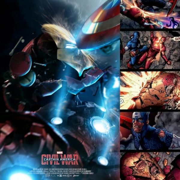 Stunning CAPTAIN AMERICA: CIVIL WAR Fan Posters