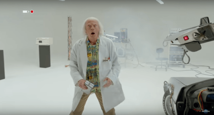 Doc Brown Is Back in BACK TO THE FUTURE Short Film