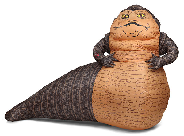 10-Foot Inflatable Jabba The Hutt is Incredible