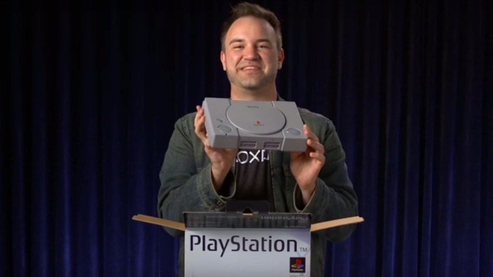 Original PlayStation Unboxed to Celebrate 20th Anniversary