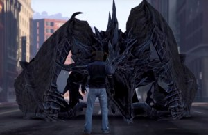 SKYRIM Dragon Creating Havoc On The Streets of GTA 5