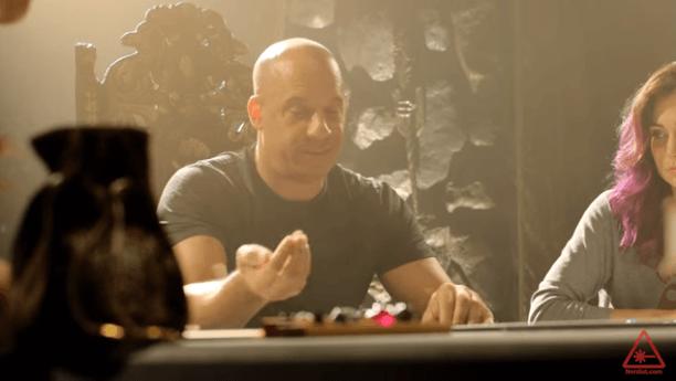 Vin Diesel Enjoying Playing Dungeons & Dragons