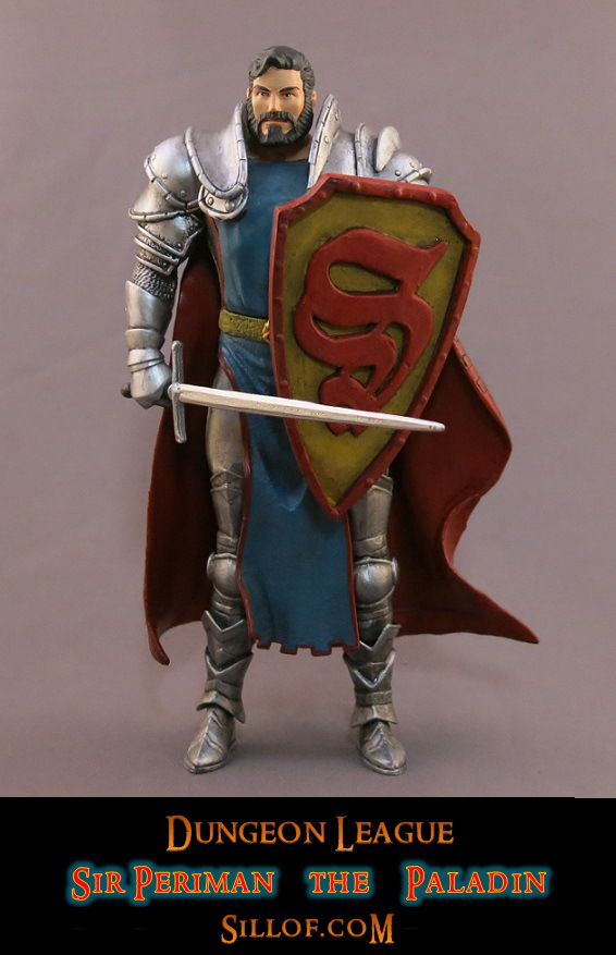 Medieval Justice League Action Figures