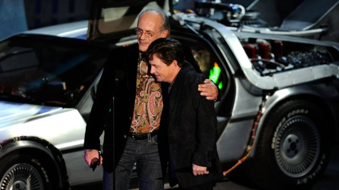 Michael J. Fox and Christopher Lloyd Reunited in Toyota Commercial