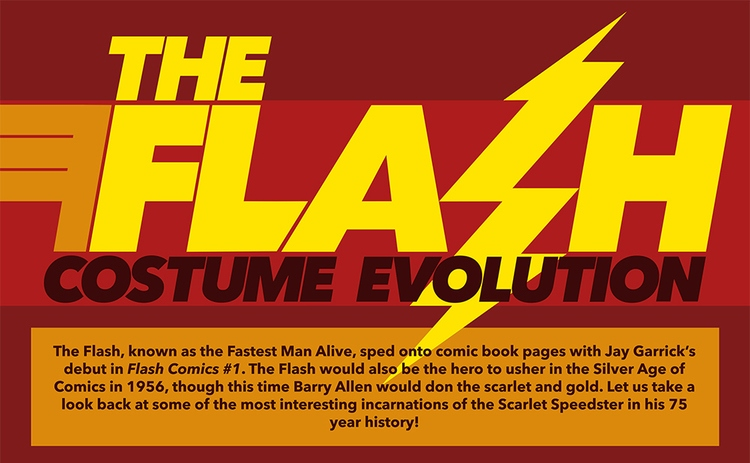 THE FLASH's Costume Evolution