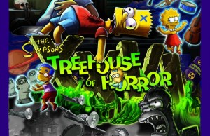 THE SIMPSONS TREEHOUSE OF HORROR XXVI Poster