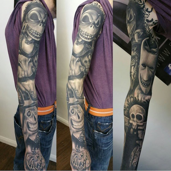 THE NIGHTMARE BEFORE CHRISTMAS Inspired Insane Tattoos