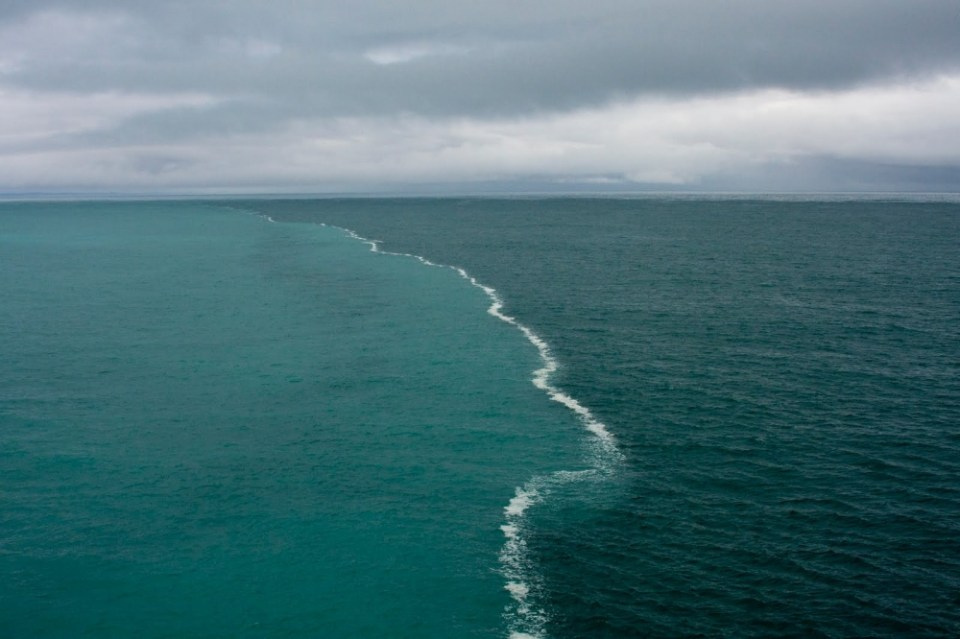 The boundary of the North and Baltic Seas