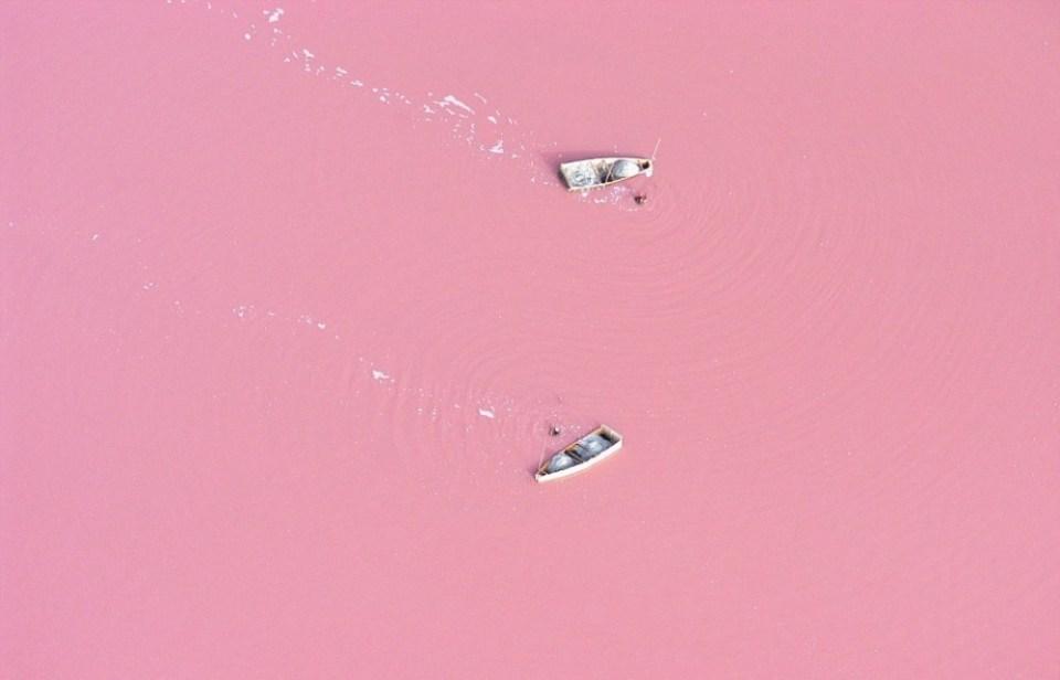 Pink Lake Senegal