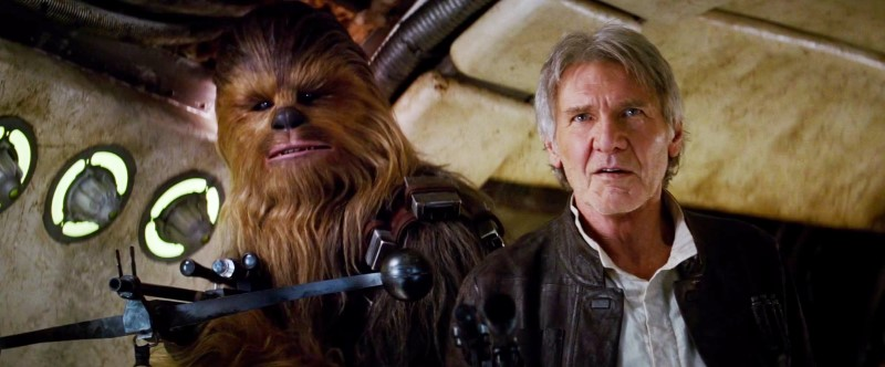 Han Solo And Chewbacca Age 40 Years