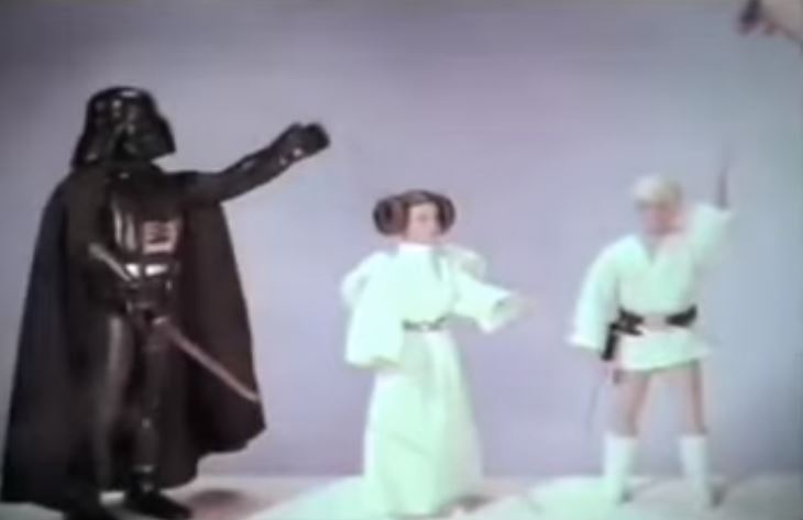 STAR WARS Toy Commercials