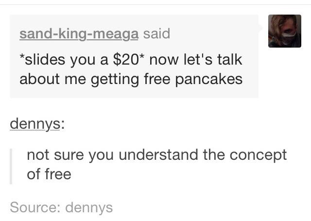 Hilarious Posts From the Denny's Tumblr Page