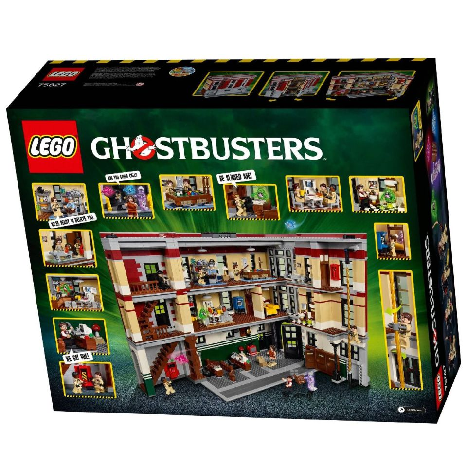 LEGO Ghostbusters Firehouse