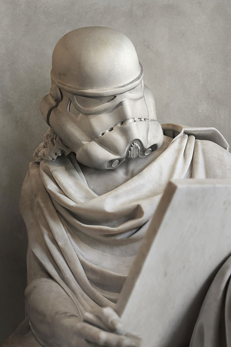 Star Wars Characters Imagined As Greek Statues