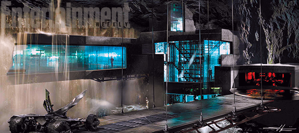 Batcave Shown In The New BATMAN V SUPERMAN Pictures