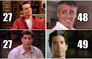 """Friends"" Cast Now And Then"
