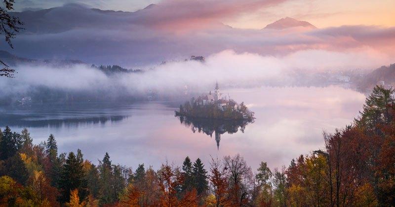 Beautiful And Serene Autumn Timelapse Through Croatia and Slovenia