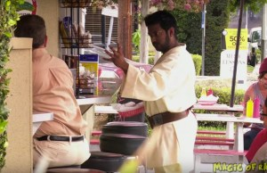 STAR WARS Prank: Jedi Power Force to Grab a Ketchup Bottle