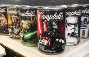 Star Wars Branded Food Products