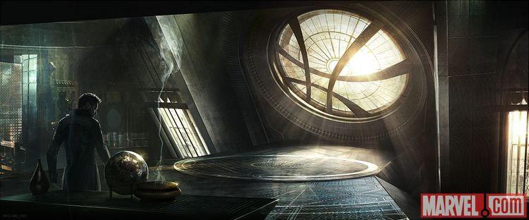 Concept Art Shows Doctor Strange's Sanctum Sanctorum