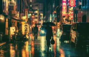 Night Photography Of Tokyo's Streets