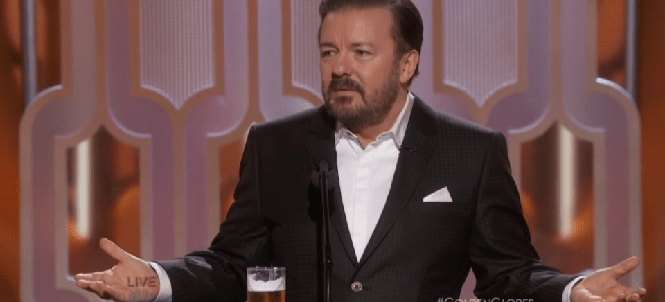 Ricky Gervais's Joke About Caitlyn Jenner At The Golden Globes