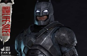 Life-Size Armored Batman Collectible from Batman v Superman