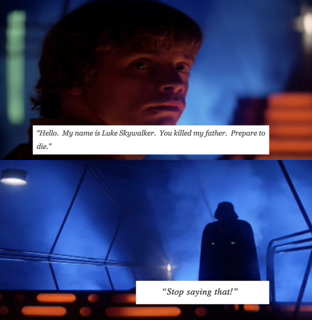 The Princess Bride' Quotes With 'Star Wars'