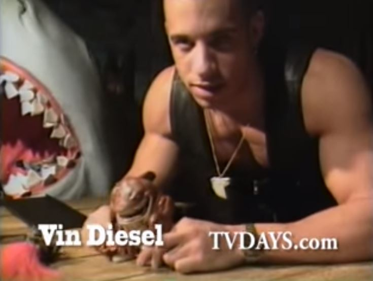 Vin Diesel Selling Toys