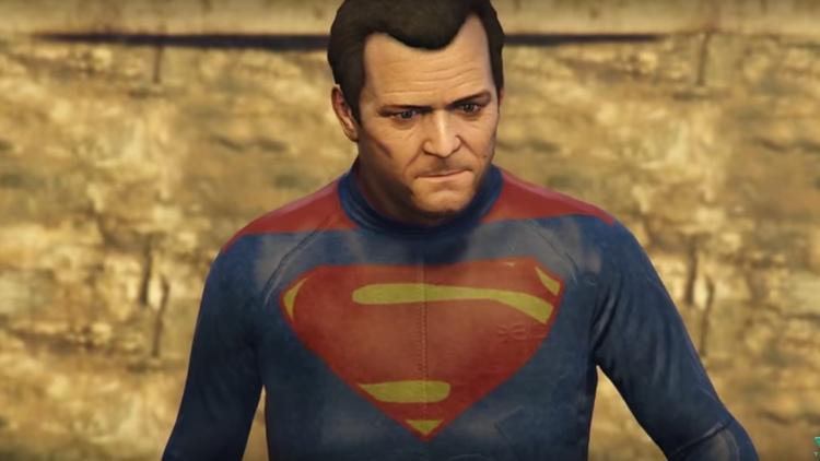 BATMAN V SUPERMAN Trailer Recreated in GTA V