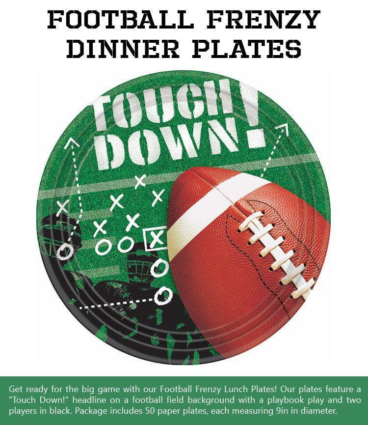 Football-Frenzy-Dinner-Plates