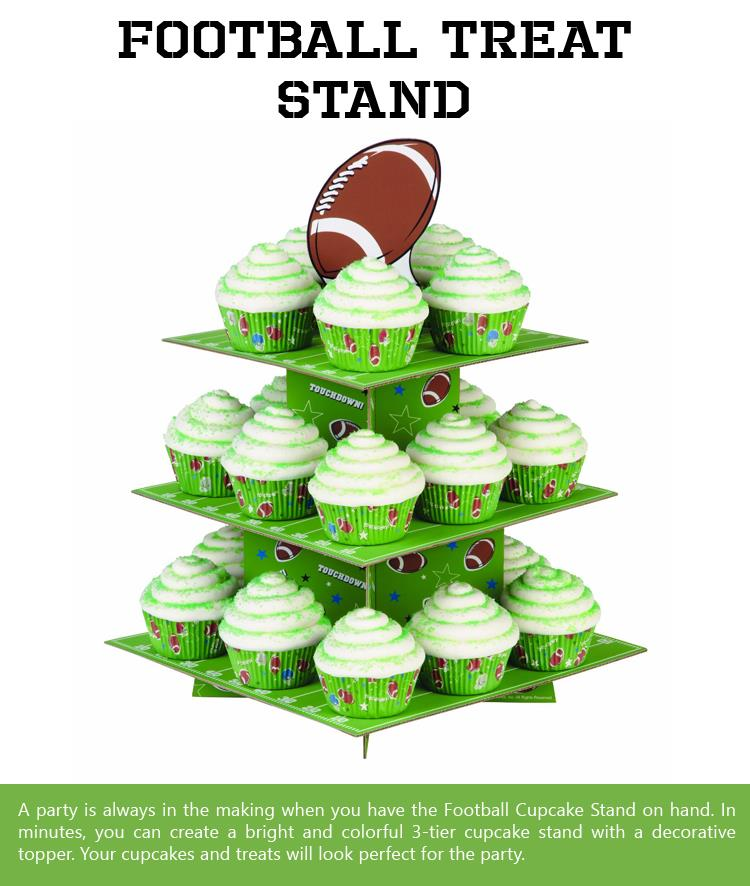 Football-Treat-Stand