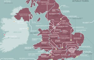 British TV Shows shooting places