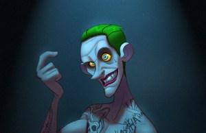 SUICIDE SQUAD'S Joker Animated Art