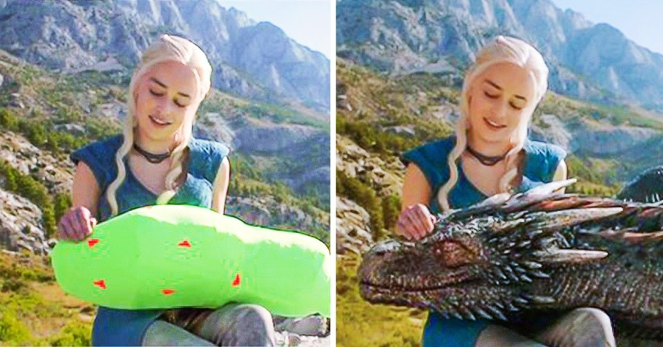 30 Before-And-After Special Effects