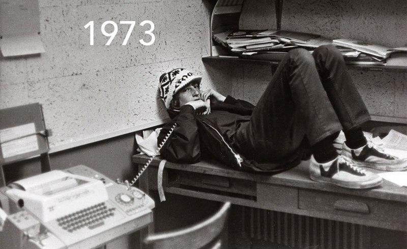 Bill Gates recreates his school yearbook photos (1)