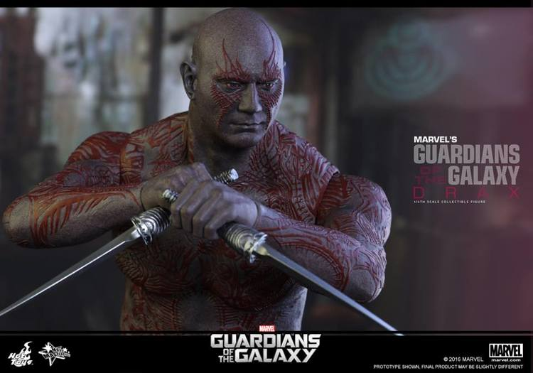 Hot Toys GUARDIANS OF THE GALAXY Drax Action Figure
