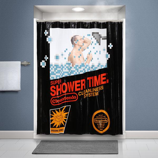 Retro Gaming Shower