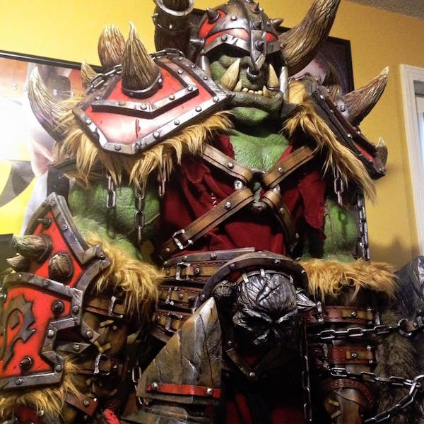 Brilliant WORLD OF WARCRAFT Orc Cosplay (3)