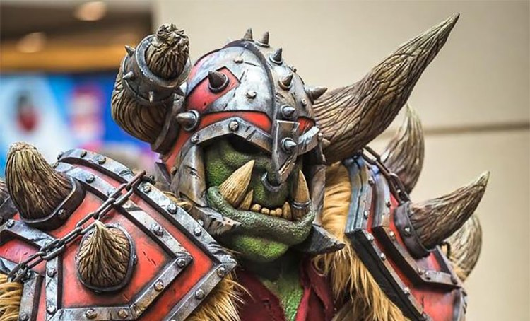 Brilliant WORLD OF WARCRAFT Orc Cosplay (6)