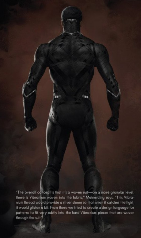 Black Panther's Costume